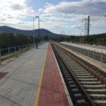 Aquincum megállóhely peronépítési munkálatok