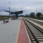 Óbuda állomás peronépítési munkálatok