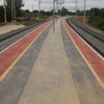 Vasvár állomás peron -és szivárgórendszer építési munkálatok