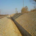 Záhony térség széles nyomtávú vontatóvágány hálózat felújításának II. üteméhez tartozó víztelenítési és csatornázási munkálatok