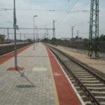 Tárnok-Székesfehérvár vonalszakasz, Kápolnásnyék állomás peronburkolat építési munkálatok