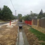 Biatorbágy Iharos csapadékvíz építés I. ütem építési munkálatok
