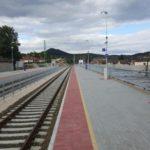 Pilisvörösvár állomás peronépítési munkálatok