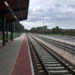 Solymár állomás peronépítési munkálatok